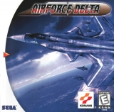 Airforce Delta, de Konami pour Dreamcast (complet en version NTSC US)