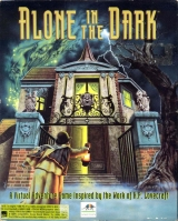 Alone in the Dark, de Frédéric Raynal / Infogrames, en version PC CD-ROM européenne (1993, complet)