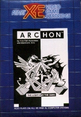 Archon par Free Fall Associates pour Atari 800/1200/130 XL/XE (version cartouche)