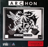 Archon : The Light and the Dark d\'Electronic Arts / Ariolasoft pour Commodore 64 / 128 (version cassette)