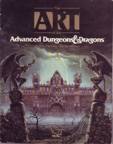 The Art of the Advanced Dungeons and Dragons Fantasy Game, by Stephanie Tabat, Roy E. Parker (designe) and Mary Kirchoff (editor). TSR, Inc., 1989