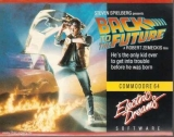 Back to the Future d\'Electric Dreams Software pour Commodore 64/128 (cassette)