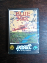 Blue Max, de SynSoft (1984) pour Commodore 64 (version cassette)