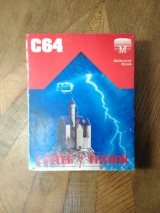Castle of terror de Melbourne house en version cassette pour Commodore 64 (1984)