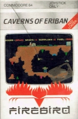 Caverns of Eriban de Firebird (1985) pour Commodore 64 (version cassette)