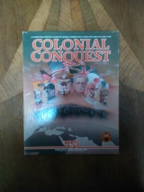 Colonial Conquest de SSI pour Atari 800 et XL 48K (version disquette US)
