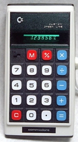 Calculatrice Commodore GL-976M (vers 1975)