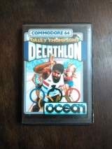 Daley Thompson\'s Decathlon de Ocean Software pour Commodore C64 128 (cassette)
