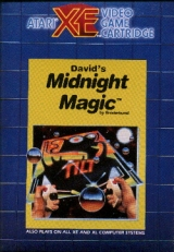 David\'s Midnight Magic de Broderbund pour Atari 800/1200/130 XL/XE