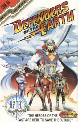 Defenders of the Earth, de Hi-Tec Software (1990) pour Commodore 64 (version cassette)