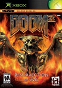 Doom 3: Resurrection of Evil, d\'Id Software pour Microsoft Xbox (complet en version PAL FR)