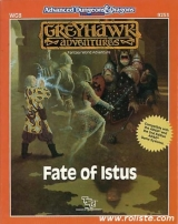 WG8 Fate of Istus, Greyhawk Adventures Fantasy World Adventure. Compatible with 2nd edition (Super-module). TSR, Inc., 1989