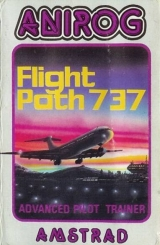 Flight Path 737 Advanced Pilot Trainer, d\'Anirog (1984) pour Amstrad CPC 464 (version cassette)