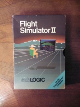 Flight Simulator II de SubLOGIC (1984) disquette pour Commodore 64