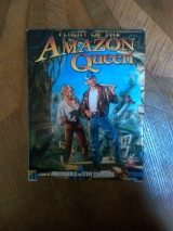 Flight of the Amazon Queen, version CD-Rom en boîte cartonnée originale pour PC à l\'état de neuf (1995)