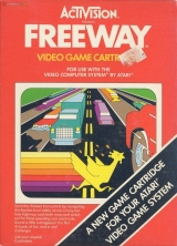 Freeway, International Edition d\'Activision pour Atari VCS 2600 (complet)