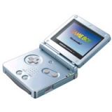 Console portable Nintendo Gameboy Advance SP Artic Blue