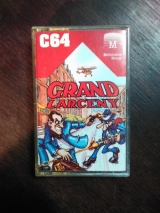 Grand Larceny pour C64 Commodore, par Melbourne House (1984)