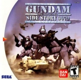 Gundam Side Story 0079: Rise from the Ashes pour Dreamcast (complet en version US NTSC)
