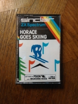 Horace goes skiing de Sinclair (1982) pour ZX Spectrum (cassette)