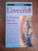 LOVECRAFT, Howard P. L\'Horreur dans le cimetière. Presses Pocket Science-fiction, Paris, 1990