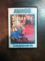 House of Usher par Anirog Software en cassette pour Commodore C64