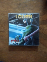 I Alien de CRL en version disquette pour Commodore C64 128