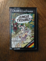 Jungle Trouble! de Durell Software pour Sinclair ZX Spectrum (1983)