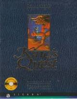 King\'s Quest Collector\'s Edition, de Sierra On-Line (première édition collective pour ordinateurs compatibles PC, 1994)