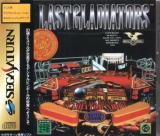 Digital Pinball Last Gladiators, de Kaze Co. pour SEGA Saturn (simulation de flipper en version japonaise NTSC)