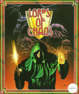 Lords of Chaos, de Blade Software (1990) pour Sinclair ZX Spectrum (cassette)