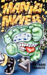 Manic Miner, de Software Projects pour Amstrad CPC 464 / 664 / 6128 (version cassette)