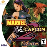 Marvel vs. Capcom 2 pour Dreamcast (complet en version NTSC US)