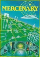 Mercenary de Novagen Software (1985) pour Commodore 64 (version cassette)