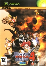 Metal Slug 4 de SNK / Playmore pour Microsoft Xbox (complet en version PAL FR)