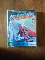 Metro-Cross (ou Metrocross) de Namco et US Gold pour Commodore 64 (version cassette)