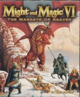 Might and Magic VI. Le Mandat céleste, de New World Computing et The 3DO Company (version PC CD-Rom en boîte)