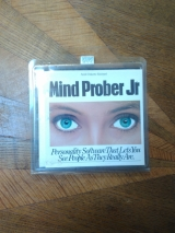 Mind Prober Jr, programme en disquette pour Apple II. Analyse psychologique