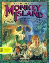 The Secret of Monkey Island et Le Chuck\'s Revenge: Monkey Island 2. Collection LucasArts Aventure, PC CD-Rom