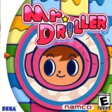 Mr. Driller de Namco pour Dreamcast (complet en version US NTSC)