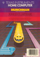 Munchman de Texas Instruments pour ordinateur Ti99-4/A (complet, solid state cartridge)