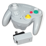 Nintendo WaveBird Wireless Controller avec receiver unit pour GameCube (contrôleur sans fil officiel)