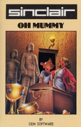 Oh Mummy de Gem Software pour Sinclair ZX Spectrum (cassette)