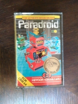 Paradroid de Hewson pour Commodore C64 et 128 (version cassette originale UK)