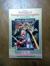 Pool of Radiance de SSI pour Commodore 64 (version disquette originale US)