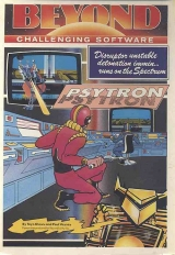 Psytron de Beyond Software (1984) pour Sinclair ZX Spectrum (complet)