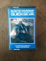 Quintic Warrior de Quicksilva pour Commodore 64 (cassette)