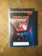 Rescue on Fractalus de Lucasfilm Games pour Commodore 64 (cassette K7)