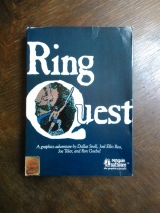 Ring Quest jeu d\'aventure graphique pour Apple II (disquette Penguin Software)