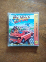 Road Blasters de Atari Games et US Gold. Version disquette pour Commodore CBM64 128